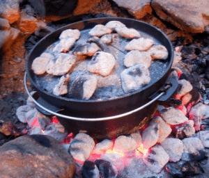 BBQ camping