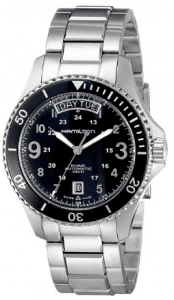 image of Hamilton Khaki King Scuba day and date watch for men 1