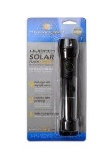 Hybrid Solar Flashlight by Gen RR