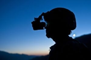 Night vision goggles - perfect for bird watching
