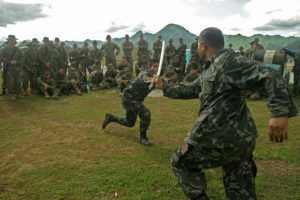 Southeast Asia boasts a long tradition of knife fighting. These techniques are becoming increasingly popular in the West.