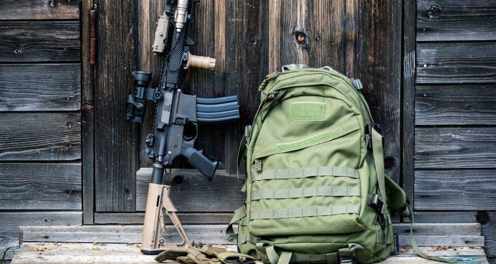 LA police gear backpack