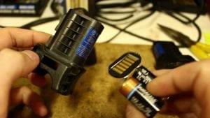 Taser batteries