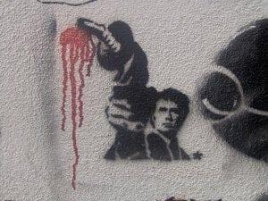 Dirty Harry graffiti