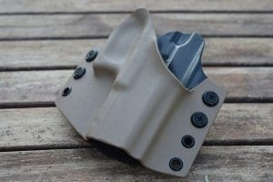 Gray weapon holster