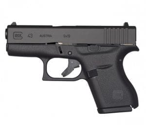 Picture of Glock 43 from the side