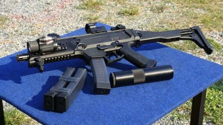 CZ Scorpion 9mm carbine