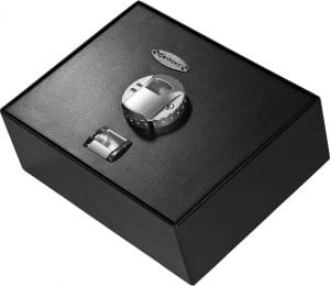 Barska AX11556 Biometric Fingerprint Top Opening