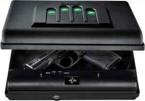 GunVault MicroVault Portable Compact Gun Safe