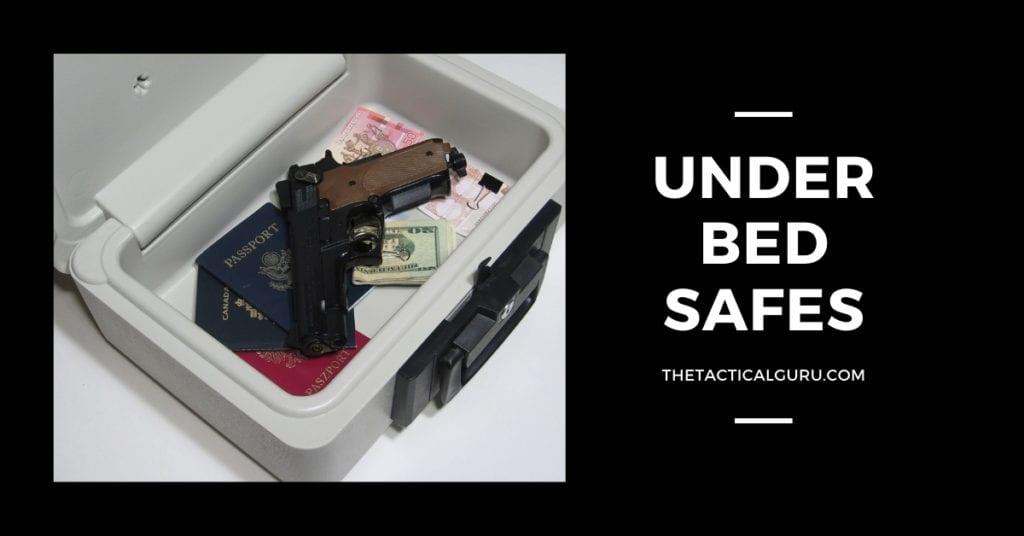 Underbed gun safes